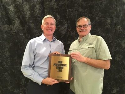 Hance Receives High Performance Award